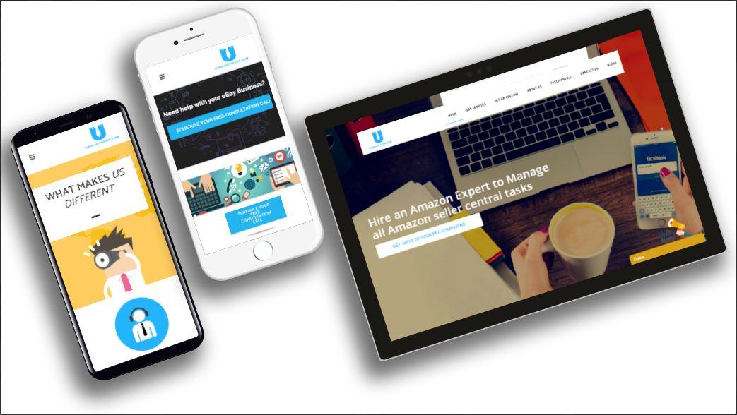 Hjemmeside, design og udvikling
